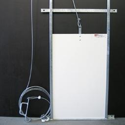 Trappe guillotine